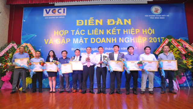 Hội Doanh nhân Đất Võ (Bình Định):  Hợp tác liên kết hiệp hội và gặp mặt doanh nghiệp 2017