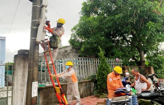 Điện lực Kiến Thụy (PC Hải Phòng) song hành cùng xây dựng nông thôn mới kiểu mẫu