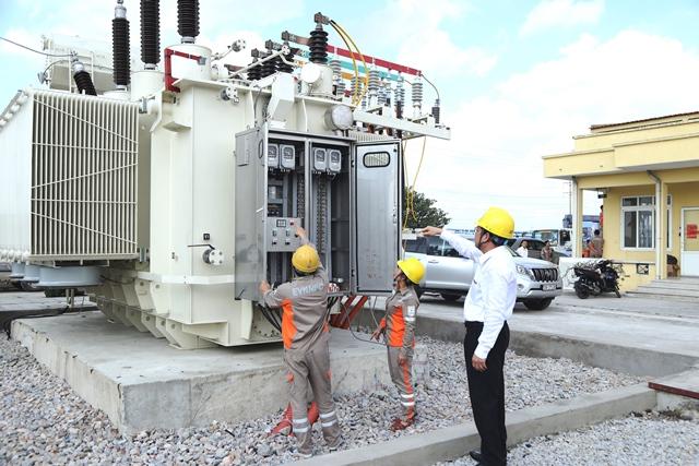 Đóng điện thành công máy biến áp T2 TBA 110 kV Quế Võ II, tỉnh Bắc Ninh