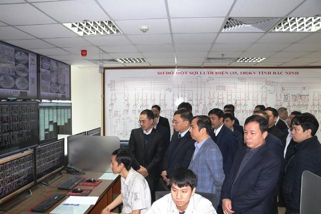 Cục Điều tiết điện lực (Bộ Công Thương) kiểm tra công tác đảm bảo cấp điện dịp Tết Nguyên đán 2020 tại PC Bắc Ninh