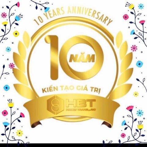 HBT - 10 năm kiến tạo giá trị